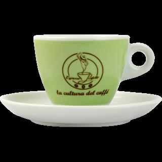 Espresso Perfetto Cappuccino beker, groen