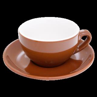 Nuova Point Cappuccino beker palermo bruin