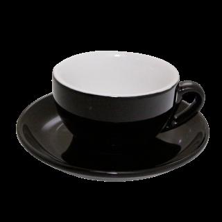 Nuova Point Cappuccino beker palermo zwart
